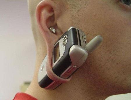 Mobile piercing motorola celular