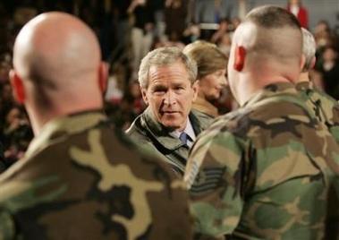 Bush Detecta careca