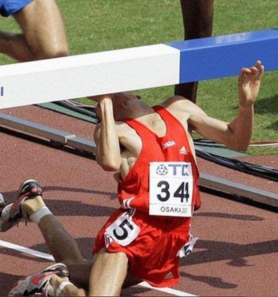 Corrida com obstáculos (mentais).