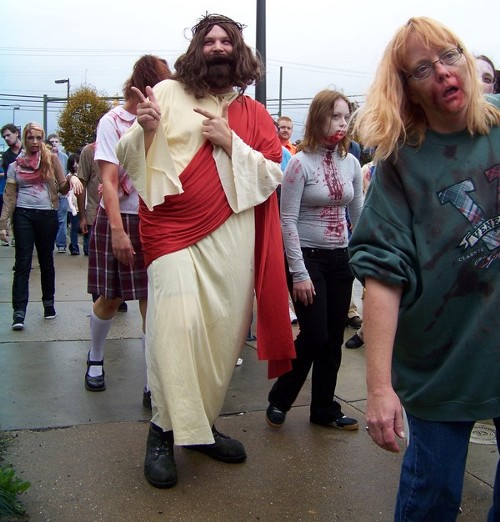 jesus no zombie walk