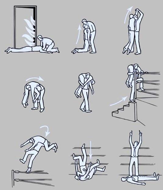 incendio instrucoes luta livre