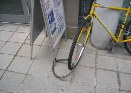 bicicleta inroubavel