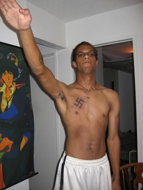 Tatuagem Nazista Cowboy Bebop Spike Spiegel
